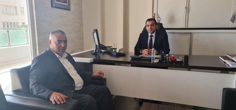 Yeni Müdür Kara'ya, Başkan Gülebak'tan ziyaret