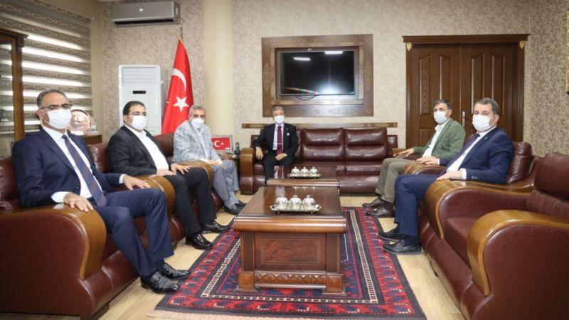 Başkanlardan Başsavcı Yeniçeri'ye ziyaret