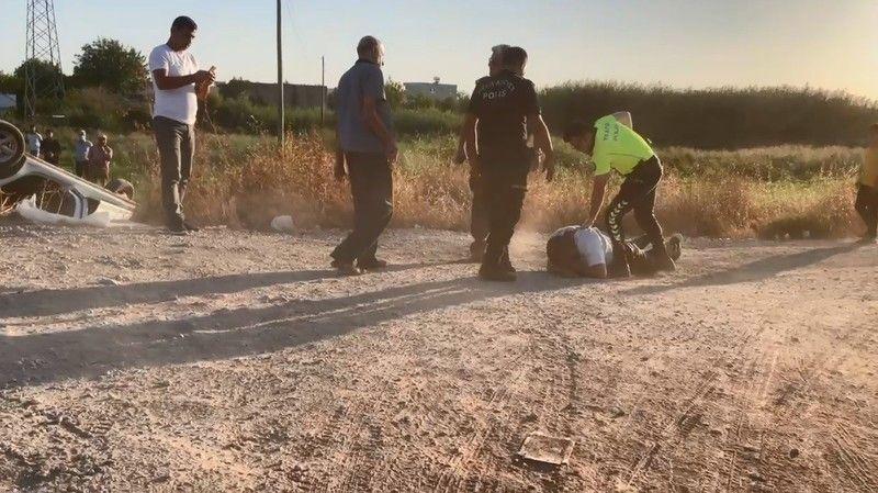 Şanlıurfa'da polis kimlik isteyince ortalık karıştı