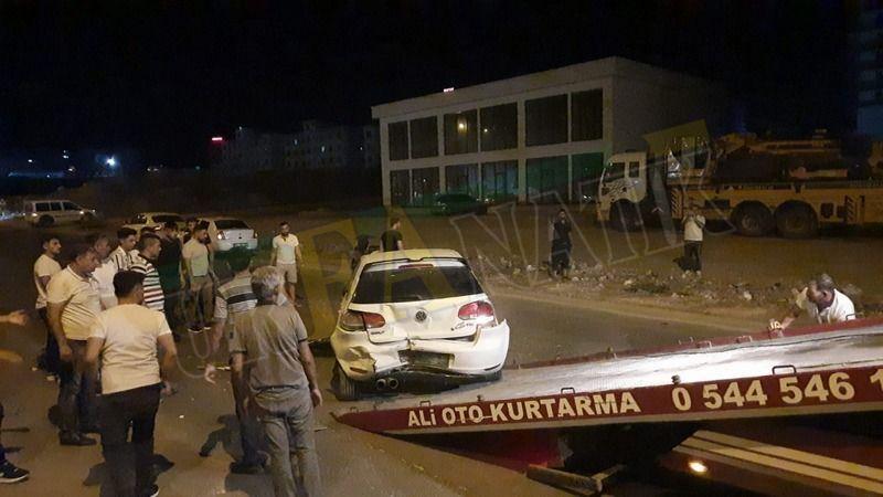 Karaköprü'de feci kaza: Yaralılar var