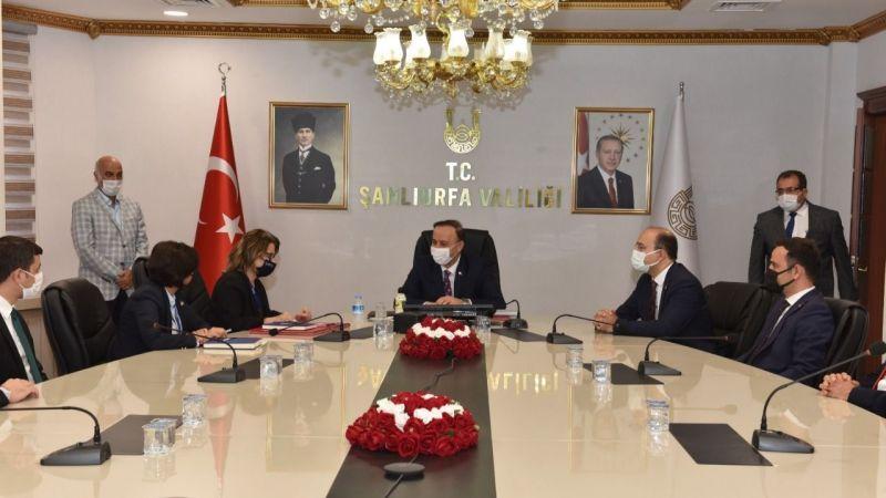 Şanlıurfa Valiliği protokolı imzaladı