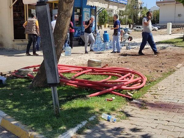 Şanlıurfa'da yer altındaki kablo patladı: 1 yaralı!
