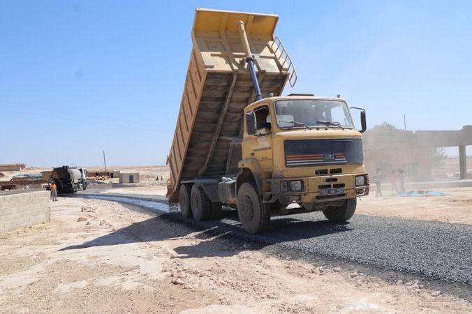 Viranşehir kırsalında asfalt atağı