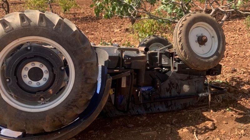 Şanlıurfa'da traktör devrildi: 1 yaralı