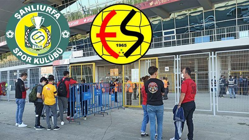 Eskişehirspor-Urfaspor maçına yoğun ilgi