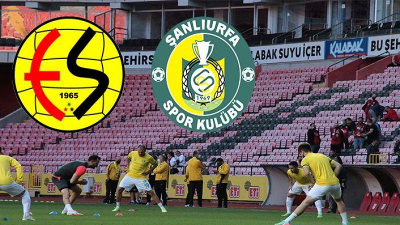 Urfaspor Eskişehirspor maçı canlı izle!
