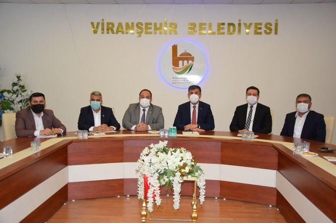 Başkan Kırıkçı'dan, Viranşehir Belediyesine ziyaret