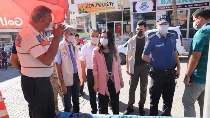Urfa'da kadın kaymakam esnafla tanıştı