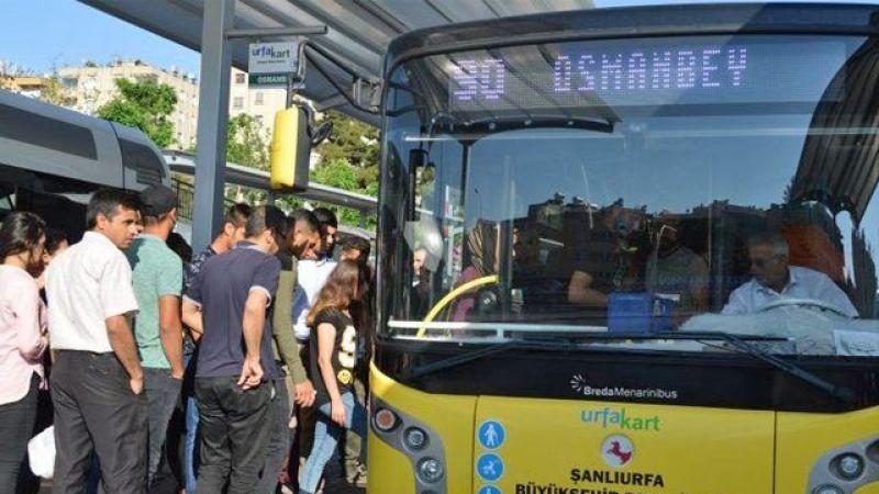 Urfa'daki yoğun otobüs hattına ek sefer: Tam 60 tane!