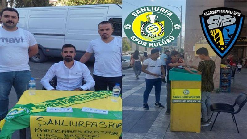 Şanlıurfaspor'da biletler satışa çıktı