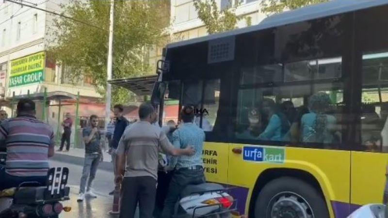 Urfa'da sürücü ortalığı ayağa kaldırdı: Polis devreye girdi!