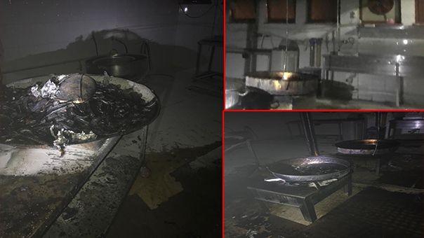Şanlıurfa'daki hastanede yangın!