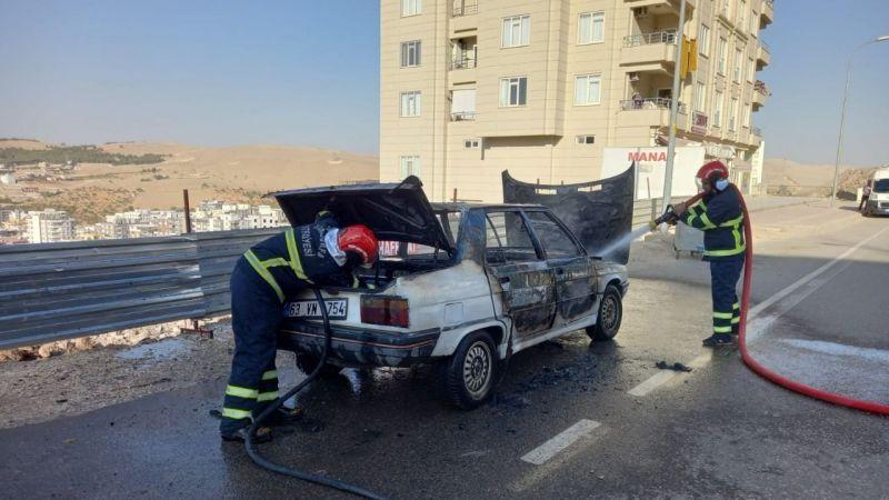 Urfa'da korku dolu anlar, sürücü zaman kaybetmedi!