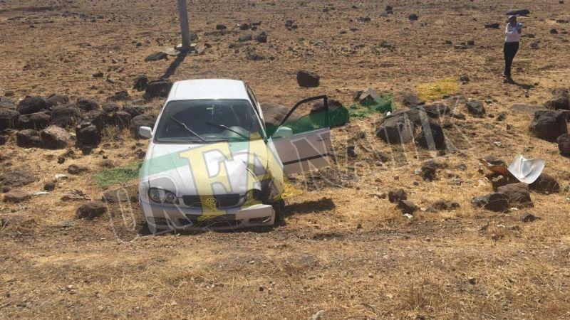 Siverek'te otomobil devrildi: Yaralılar var