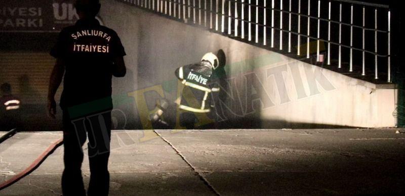 Şanlıurfa'da gece yarısı yine araç yangını: Kundaklama olabilir mi?