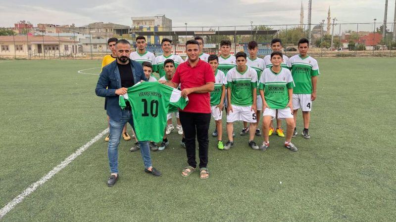 Dermomin Pharma'dan Viranşehirspor'a forma desteği