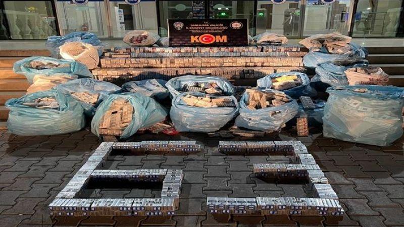 Şanlıurfa'da ele geçirildi: Tam 16 bin 370 paket
