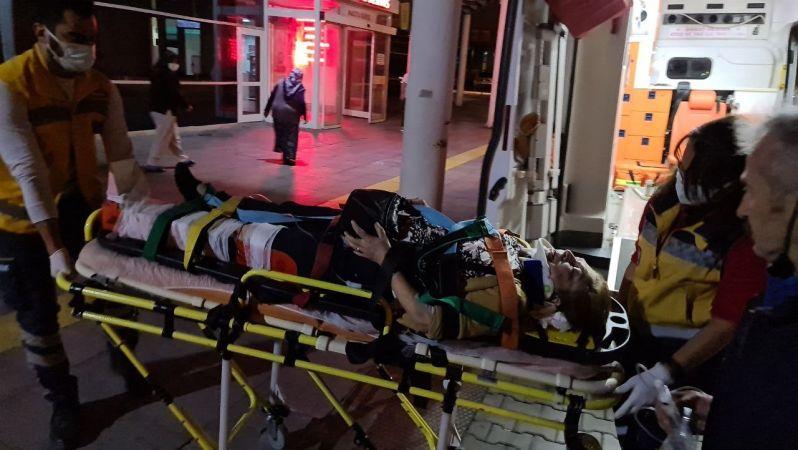 Gece vakti katliam gibi kaza: 2 ölü, 6 yaralı