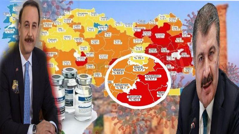Güneydoğu'da Urfa dahil 6 il Kırmızı, 3 il turuncu kategoride