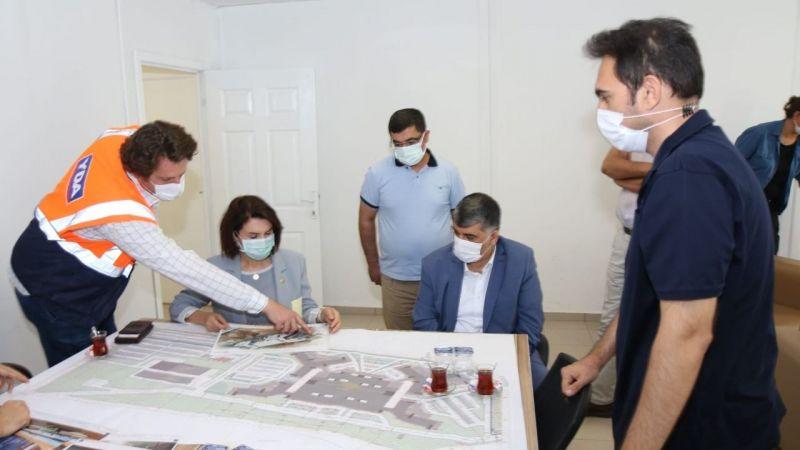 Urfa şehir hastanesinde yeni gelişme: Yerinde İncelediler