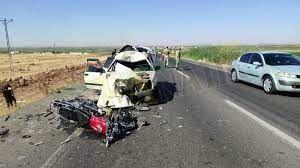 Urfa'da ölüm yolunda kazalar bitmiyor