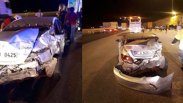 Urfa plakalı otobüs kaza yaptı: Yaralılar var!