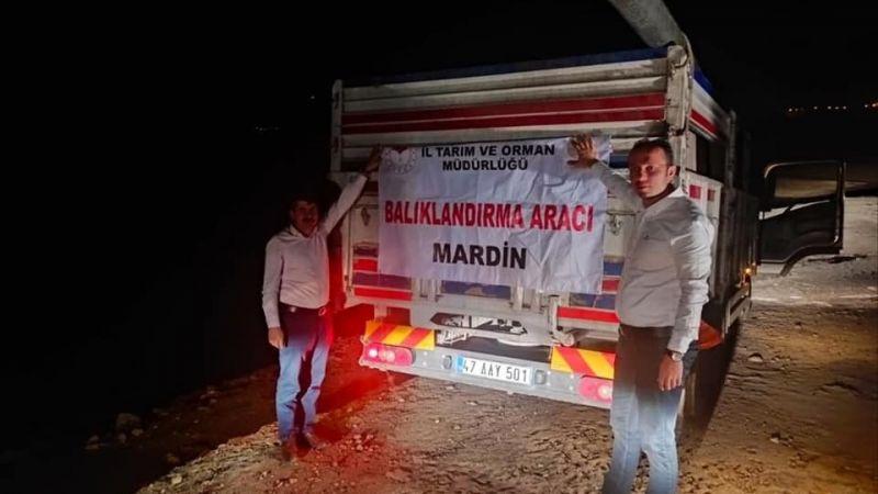 Urfa'dan Mardin'e gönderildi: Tam 918 bin adet