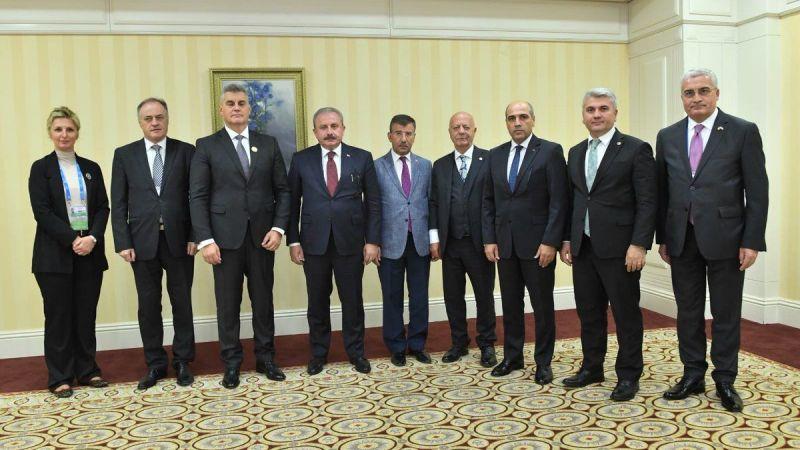Başkan Şentop'a Urfa Vekili eşlik etti