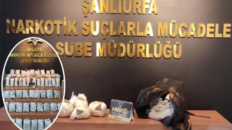 Urfa'da uyuşturucu operasyonu: 3 gözaltı