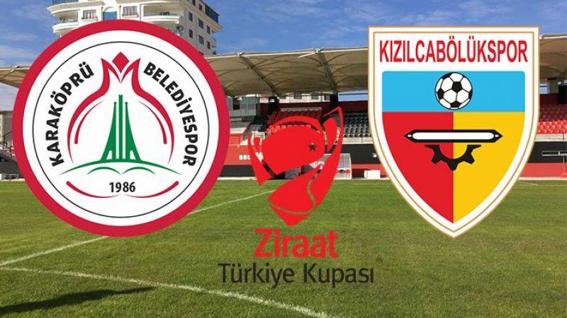 Karaköprü Belediyespor kupa maçına çıkıyor