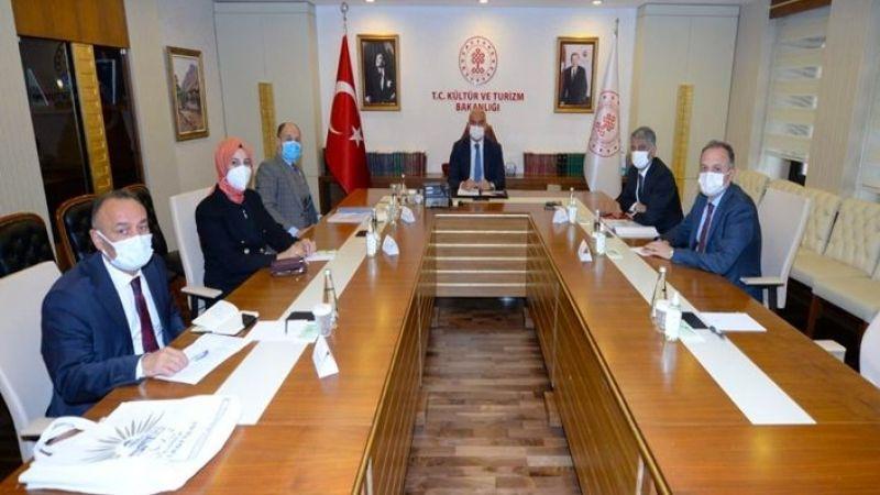 Başkan Ayşe Çakmak'ın Ankara temasları sürüyor