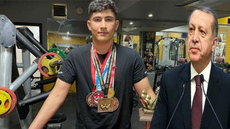Urfalı Milli sporcu Erdoğan ile güreş yapmak istiyor