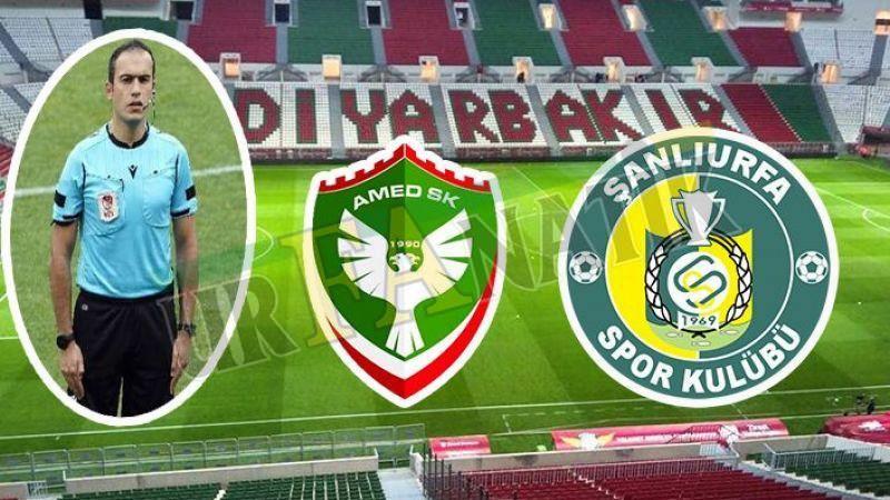 Urfaspor Amedspor maçını Rizeli hakem yönetecek