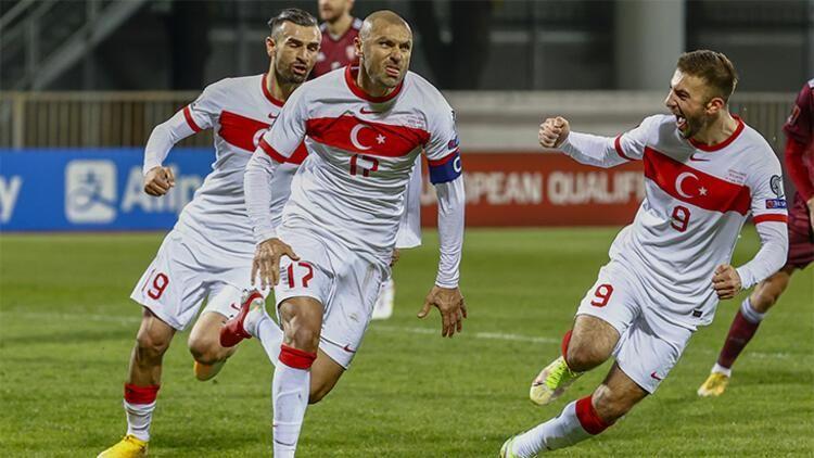 Eski Urfasporlu futbolcu Türkiye maçına damgasını vurdu!