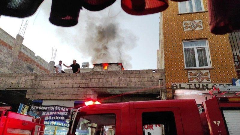 Şanlıurfa'da mangal keyfi yangına dönüştü!