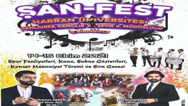 Öğrenciler ŞAN-FEST'le eğlenceye ve spora doyamayacak