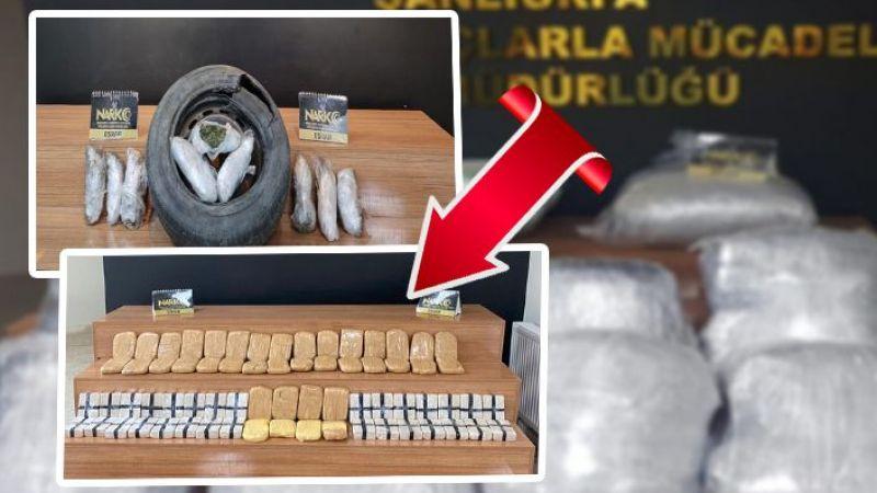 Şanlıurfa'da uyuşturucu operasyonu: 3 tutuklama