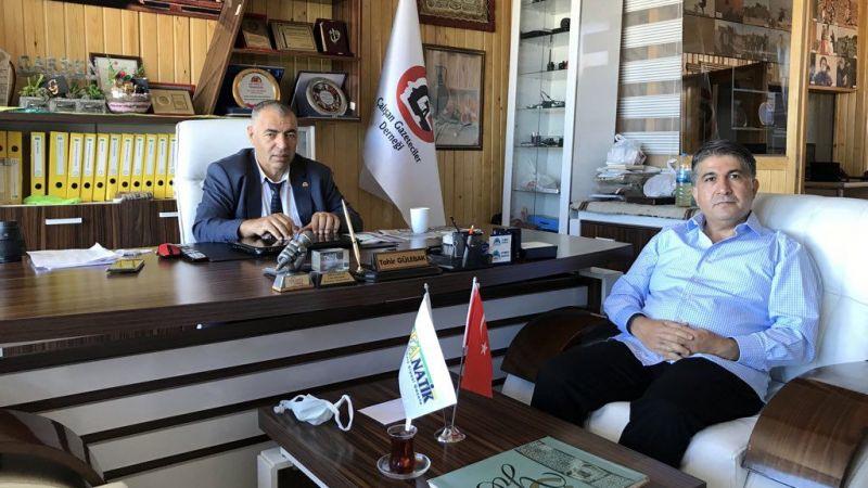 Doktor Süleyman Gök'ten Başkan Gülebak'a ziyaret
