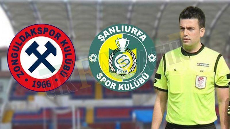 Zonguldak Kömürspor,Urfaspor maçının hakemi belli oldu