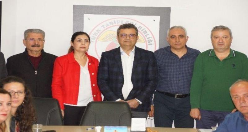 """Aydın Tabip Odası Başkanı Karagözlü, """"Mağdur edilmek istemiyoruz"""""""