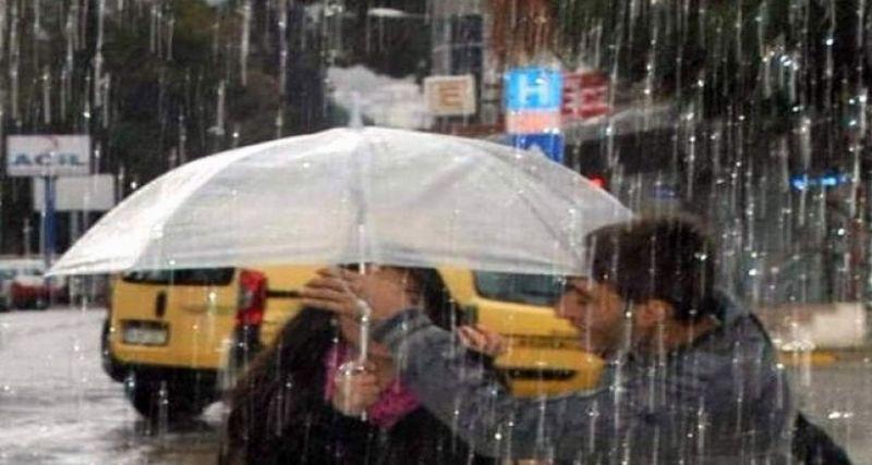 Aydın'ın batısında kuvvetli yağış bekleniyor