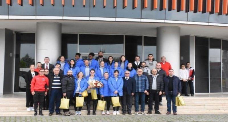 Aydın'ın Sultanları'na kupa maçı öncesi öğrenci morali