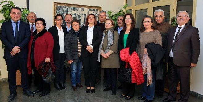 Hacı Bektaş-i Veli Anadolu Kültür Vakfı'ndan Başkan Çerçioğlu'na Ziyaret