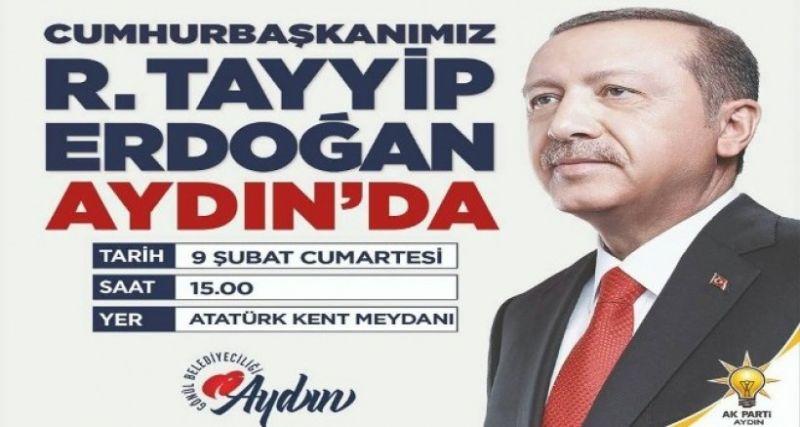 Cumhurbaşkanı Erdoğan'ın Aydın programı belli oldu