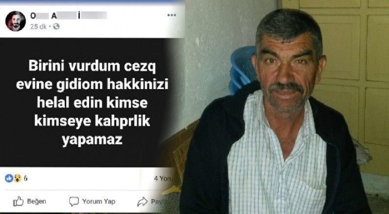 Amcasını öldürdü, cinayeti sosyal medyada paylaştı