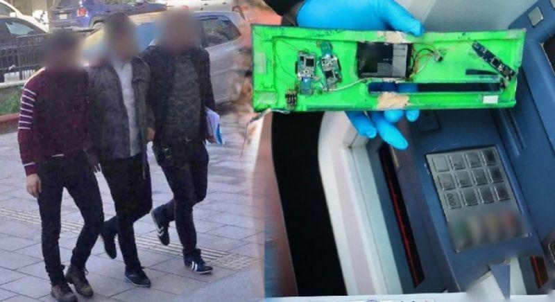 Adliye ATM'sine kart kopyalama cihazı takan dolandırıcılar 'pes' dedirtti