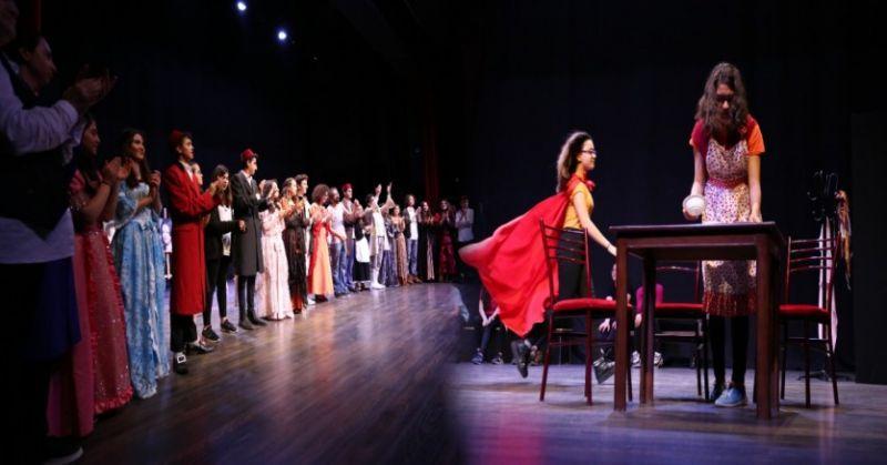 Büyükşehir Belediyesi Şehir Tiyatrosu Kursiyeri Sahneye Çıktı