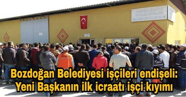 AKP'Lİ BELEDİYE'NİN İŞÇİ KIYIMI