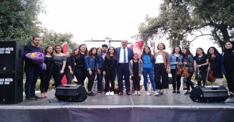 Söke'de Gençlik Orkestrası konseri beğeni topladı