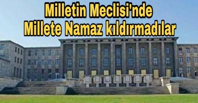 BENİM MÜSLÜMAN KARDEŞİME MESCİTLERİNDE NAMAZ KILDIRMADILAR..!